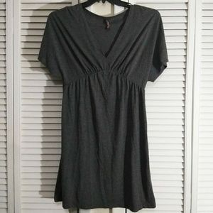 Old Navy Solid Gray Dress